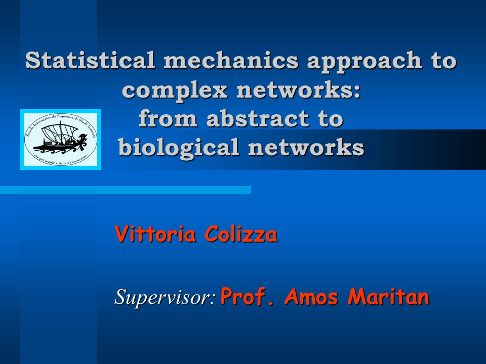 Protein-protein Interaction Networks biological networks