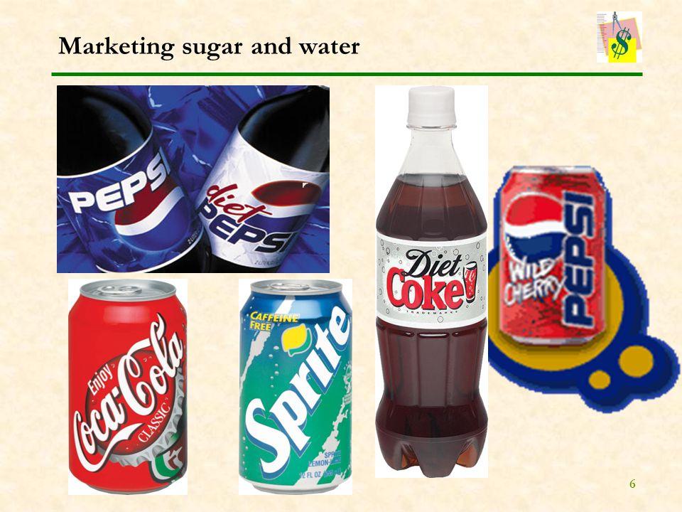 6 Marketing sugar and water