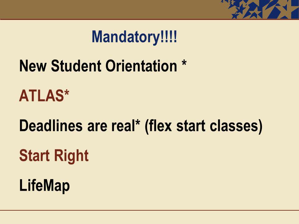 Mandatory!!!.
