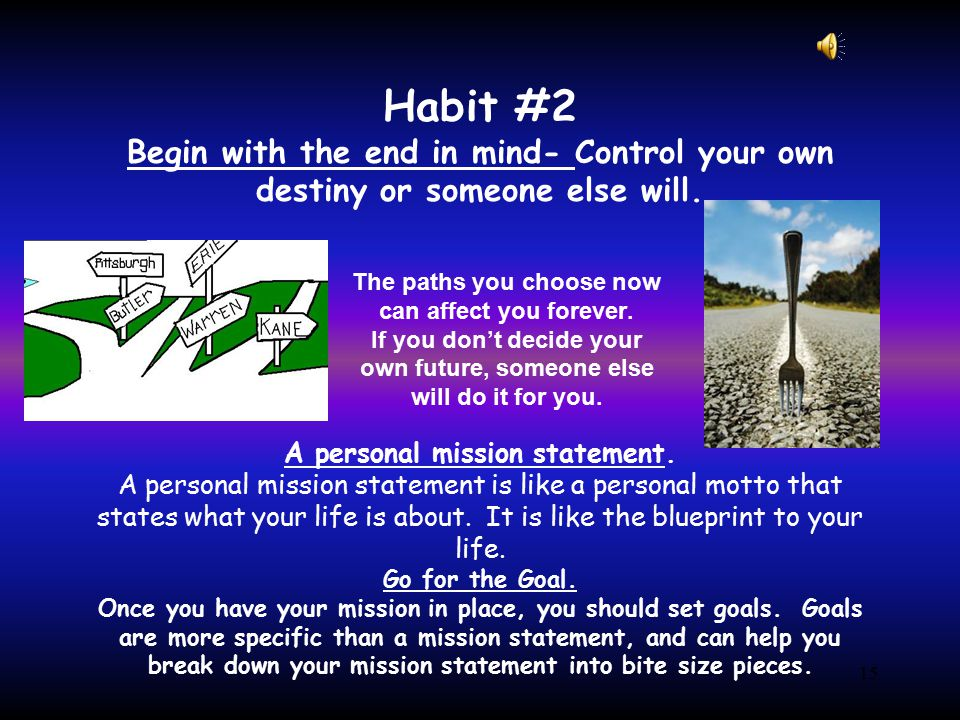 14 Habit #1 Be Proactive It pays to be proactive.Proactive people: -Are not easily offended.