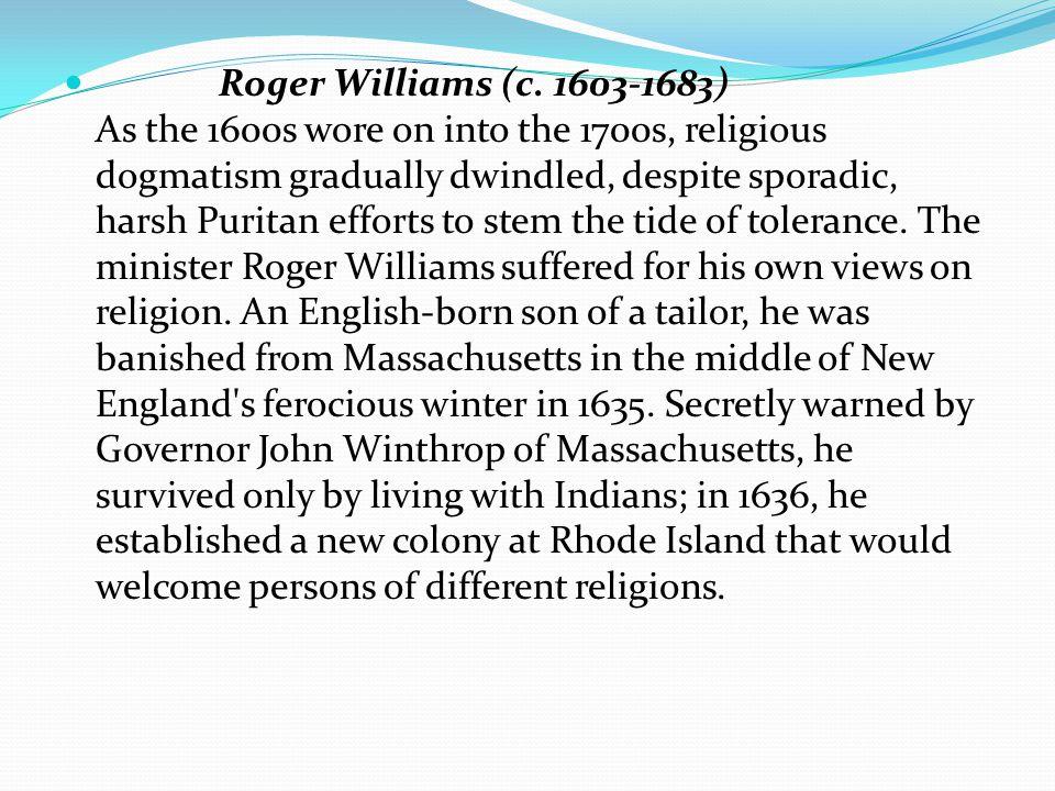 Roger Williams (c.