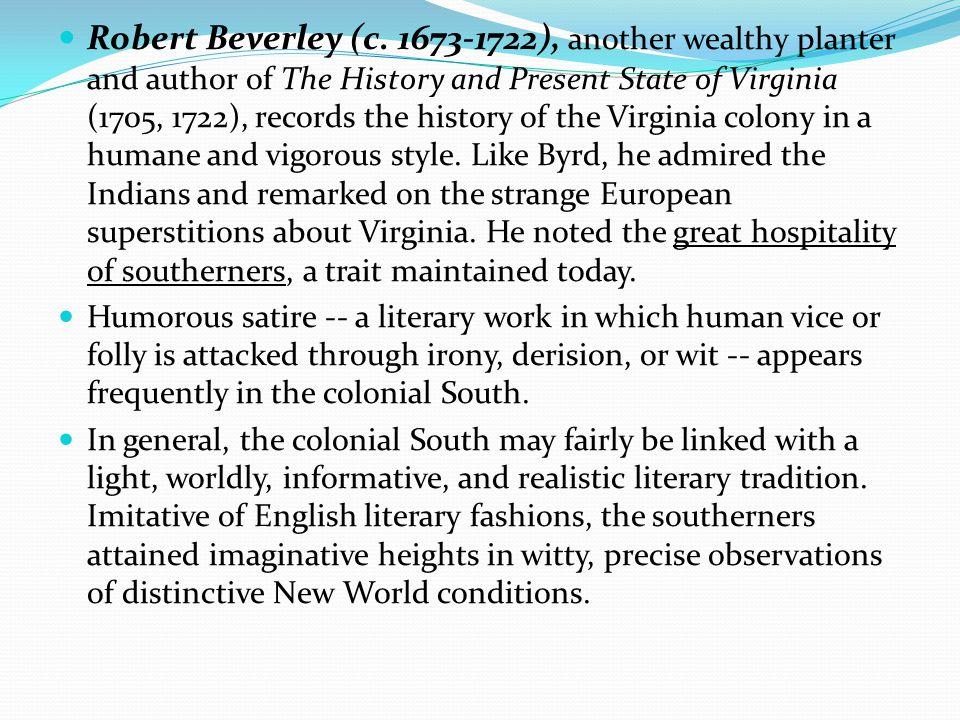 Robert Beverley (c.