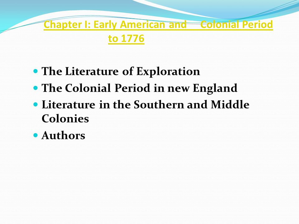 Chapter IV: The Romantic Period, 1820-1860, Fiction The Romance Women Writers and Reformers Authors