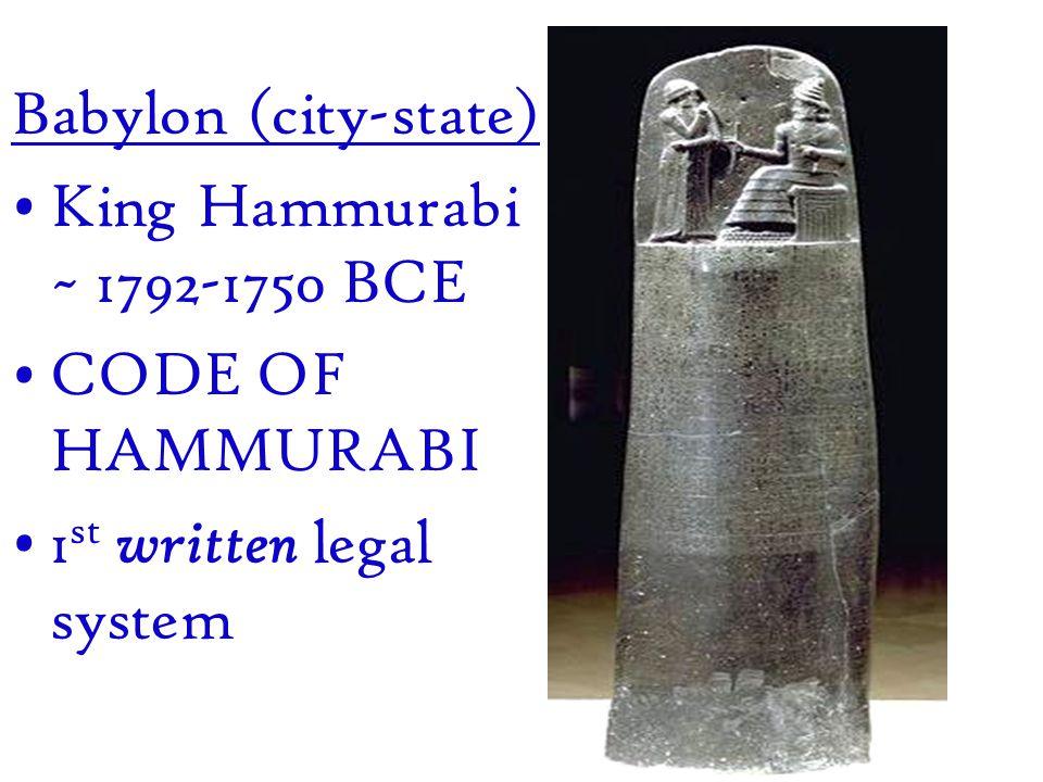 Babylon = rectangle Euphrates – diagonal Kingdoms = small circles Ocean = large circles (around world ) An early world map (600 BC) Mesopotamia: Cuneiform