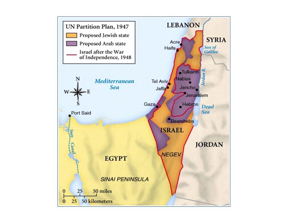 Palestine Population in 1946 Arab-Israeli Conflict