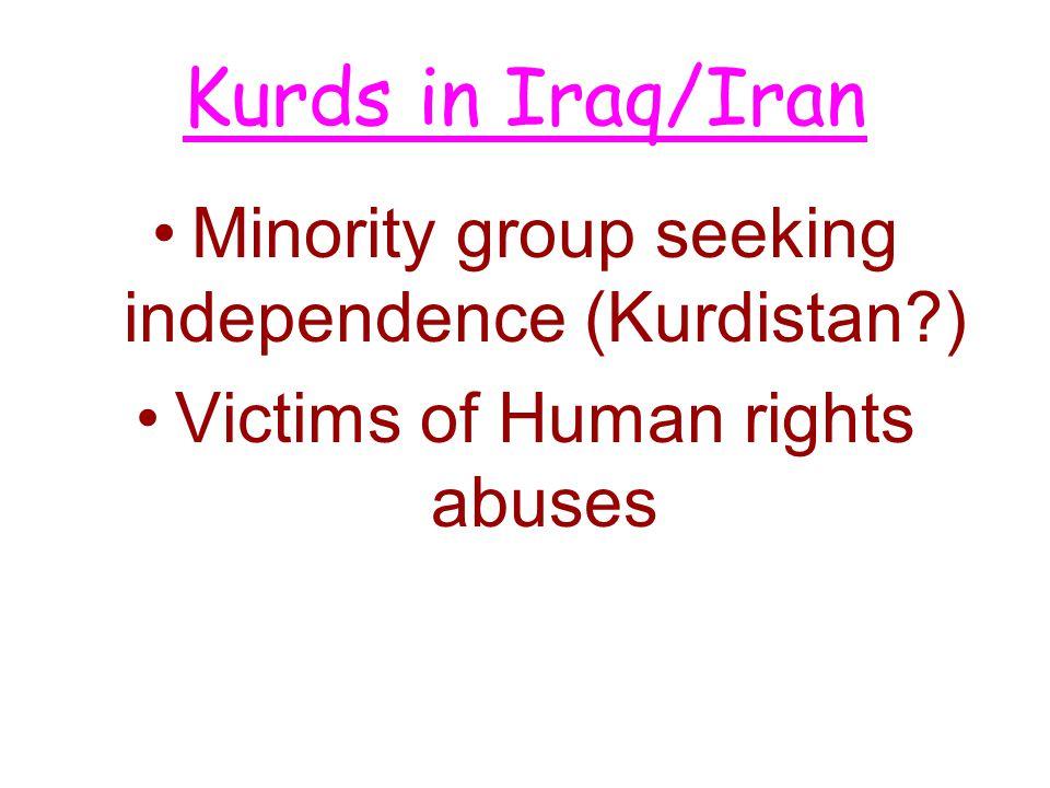 Persian Gulf War '90-91 Iraqi invasion of Kuwait –OIL UN mission –Operation Desert Storm Liberation of Kuwait –UN Success