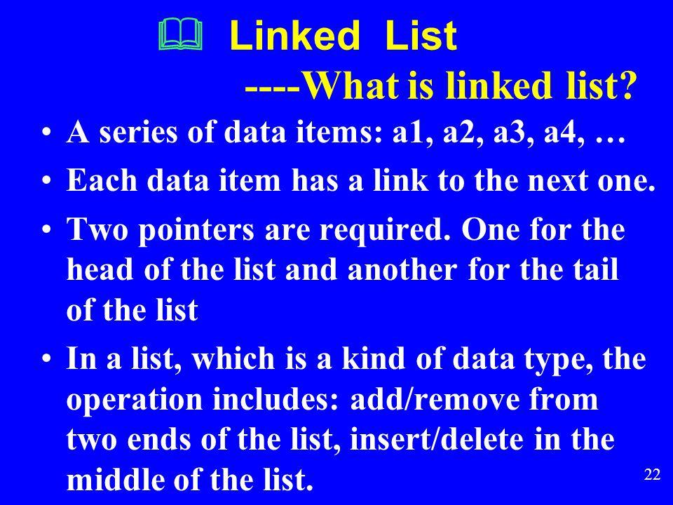 21  Homework1 1. 试用顺序表作为存储结构,变成实现线性表 ( a 0, a 1, a 2, a 3, …,a n-1 )就地逆置的操作。 2. 设顺序表 L 是一个递增有序表。试用顺序表作 为存储结构,编程实现将 x 插入 L 表中,并使 L 仍是一个有序表。 3. 利用顺序表,实