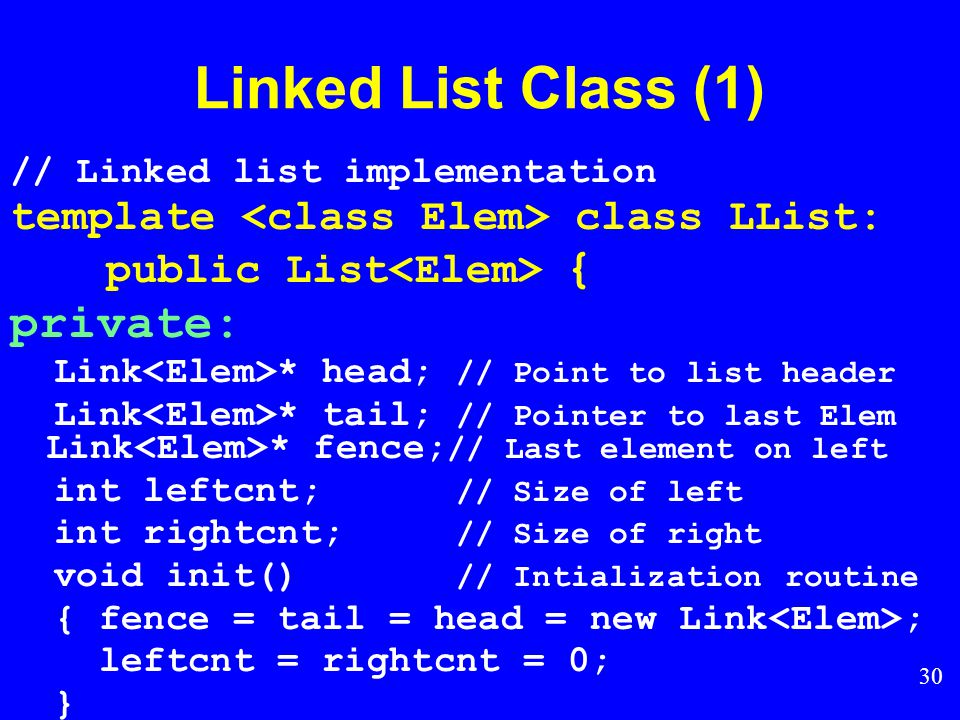 29 Linked List Position (2)