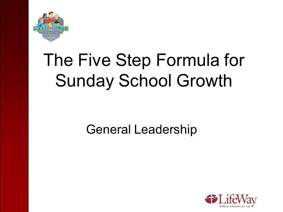Enlarge Every Age Group Enlarging the preschool is key to growth.