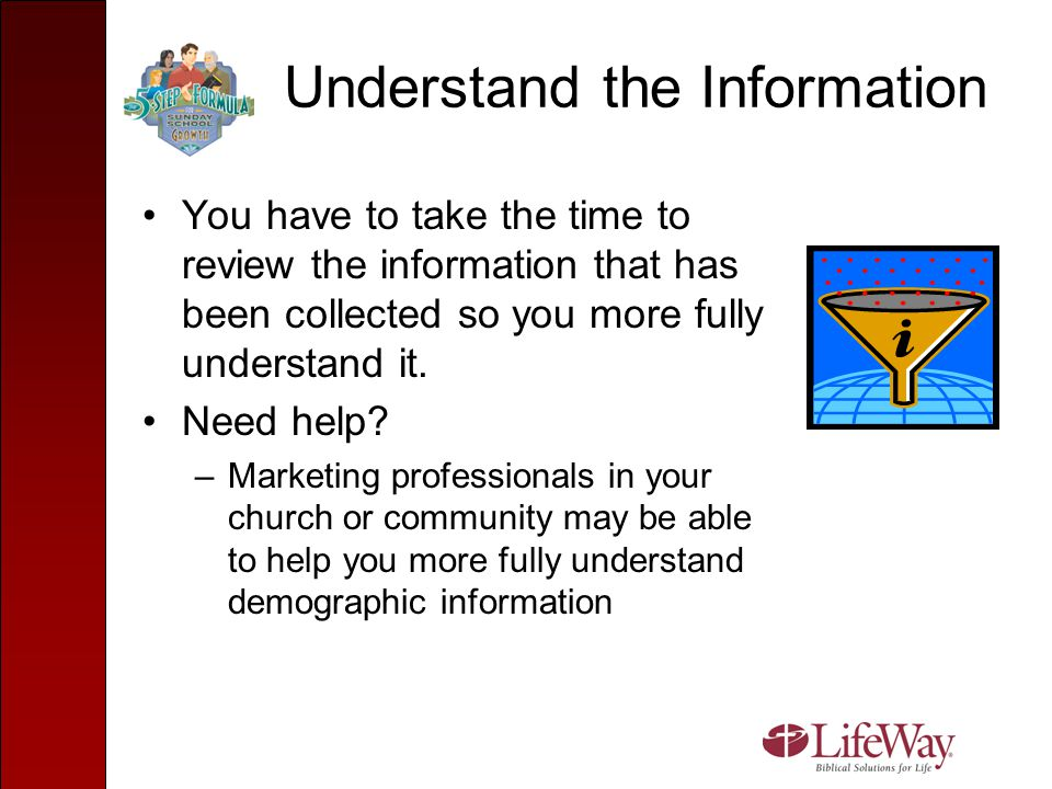 Help Leaders and Teachers Understand the Information Share your understanding of the demographic information with your department directors and leaders.