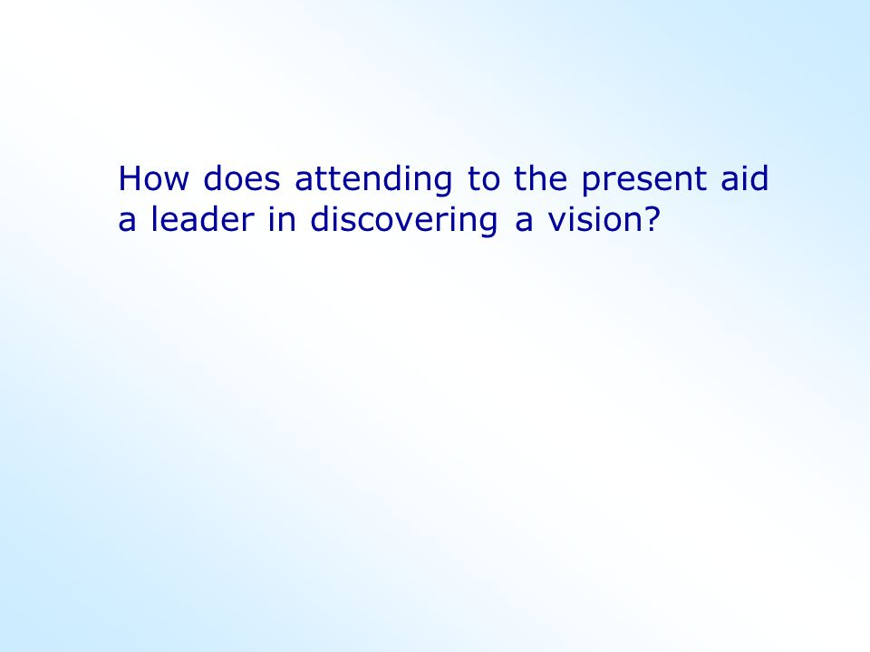 As a leader, what is so challenging about 'prospecting the future?'