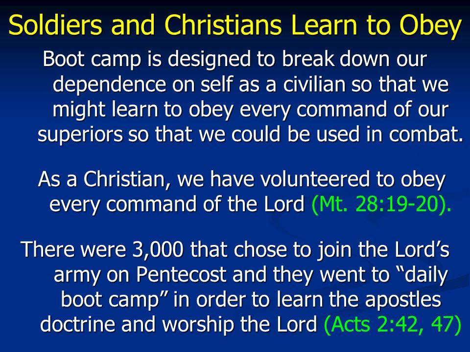 Soldiers and Christians Must Watch In the military, you have duty to watch out for the enemy.