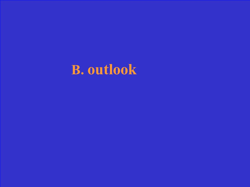 A.system B.outlook C.advantage D.logic Which word is most nearly a synonym for attitude