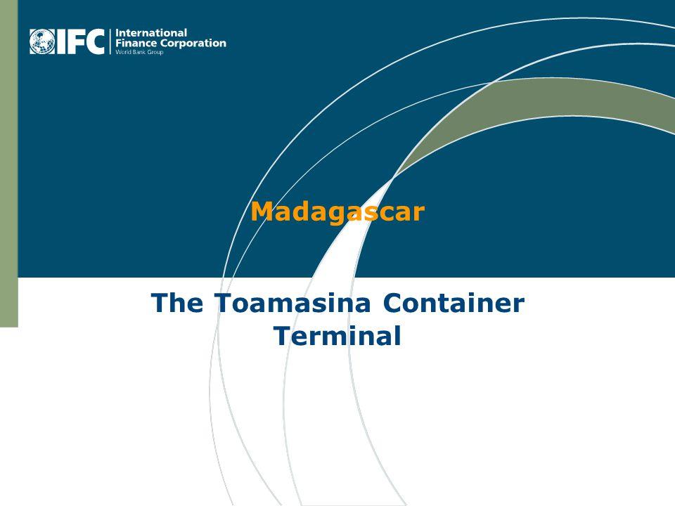 Madagascar The Toamasina Container Terminal