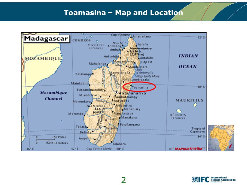 2 Toamasina – Map and Location