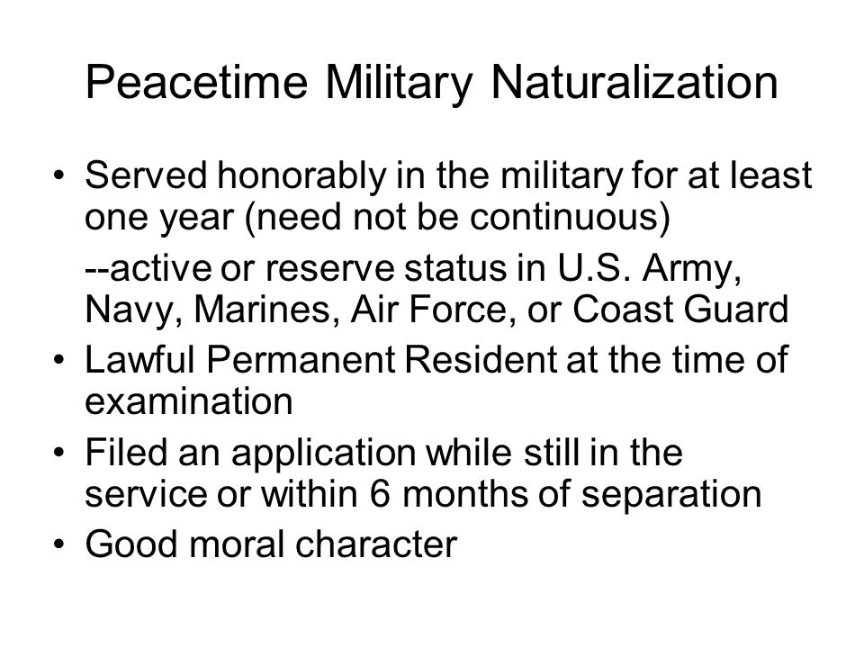 Deportation of Those Formerly in the Military Prosecutorial & Judicial Discretion -Honorable military service is considered an equity in deportation proceedings