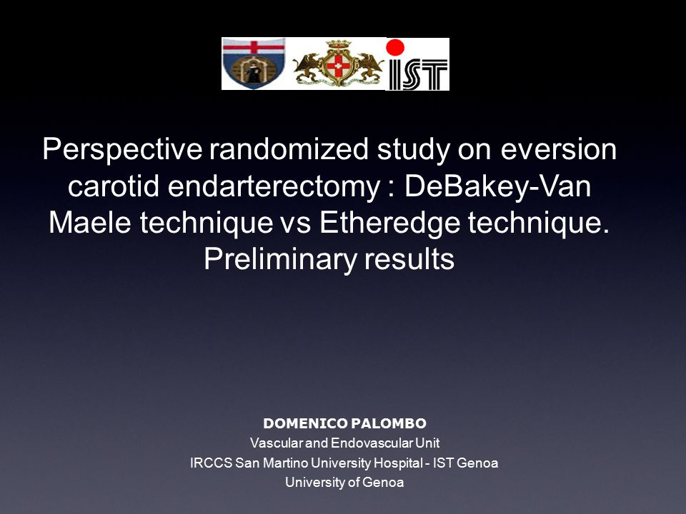 Objective The primary aim of our study is to evaluate and compare the rate of carotid restenosis between two groups of patients that underwent Eversion Endarterectomy.