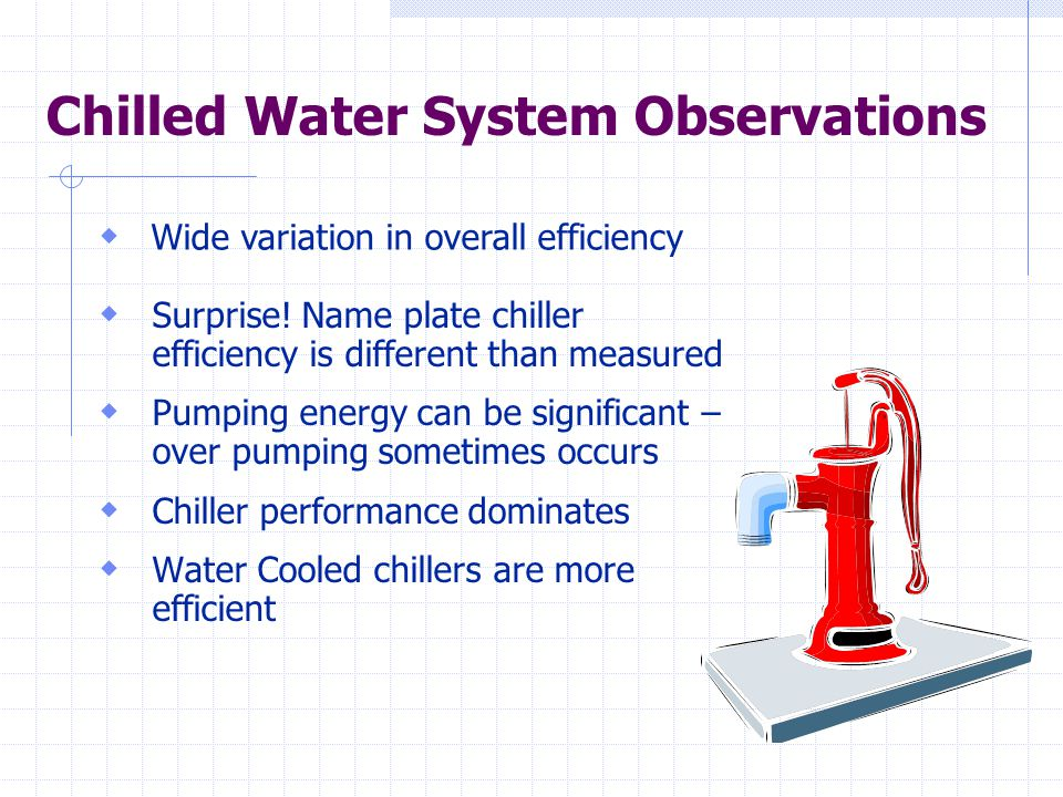 Chilled Water System Observations  Surprise.