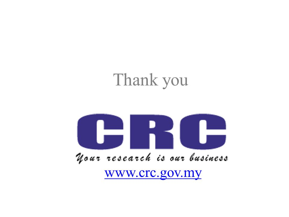 Thank you www.crc.gov.my