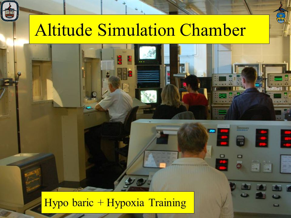 11 Altitude Simulation Chamber Hypo baric + Hypoxia Training