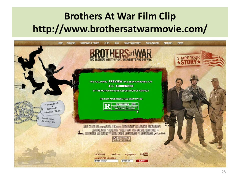 Brothers At War Film Clip http://www.brothersatwarmovie.com/ 28