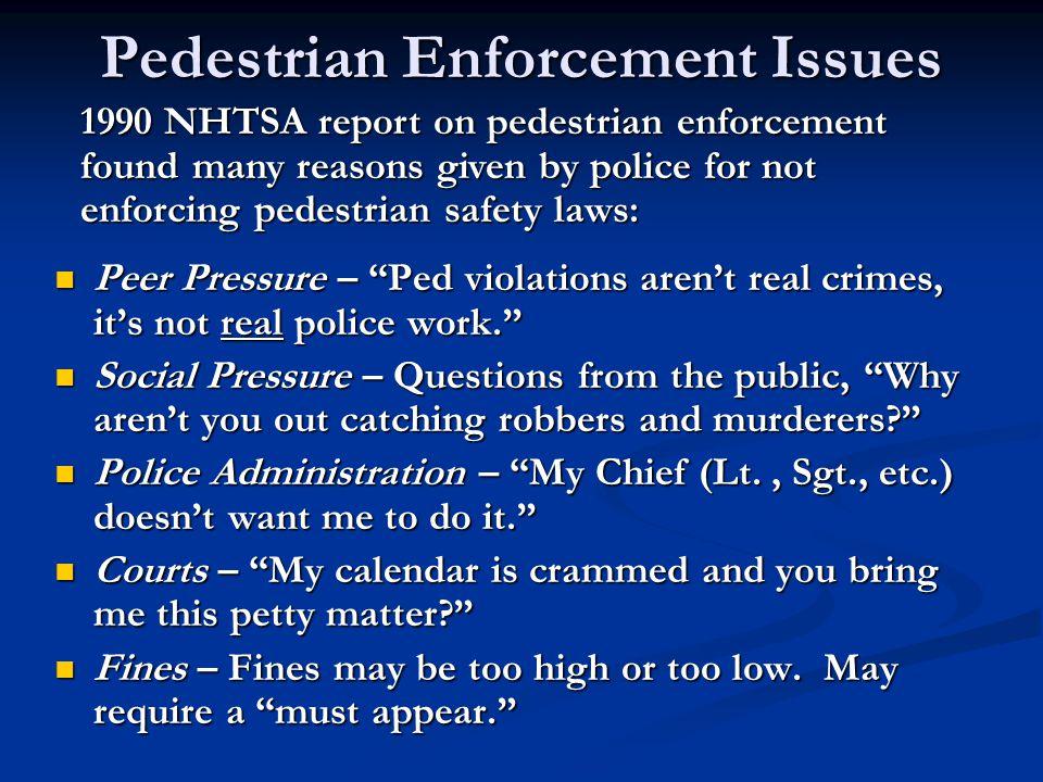 MD Pedestrian Safety Enforcement Initiative Montgomery County Publicity about enforcement Publicity about enforcement