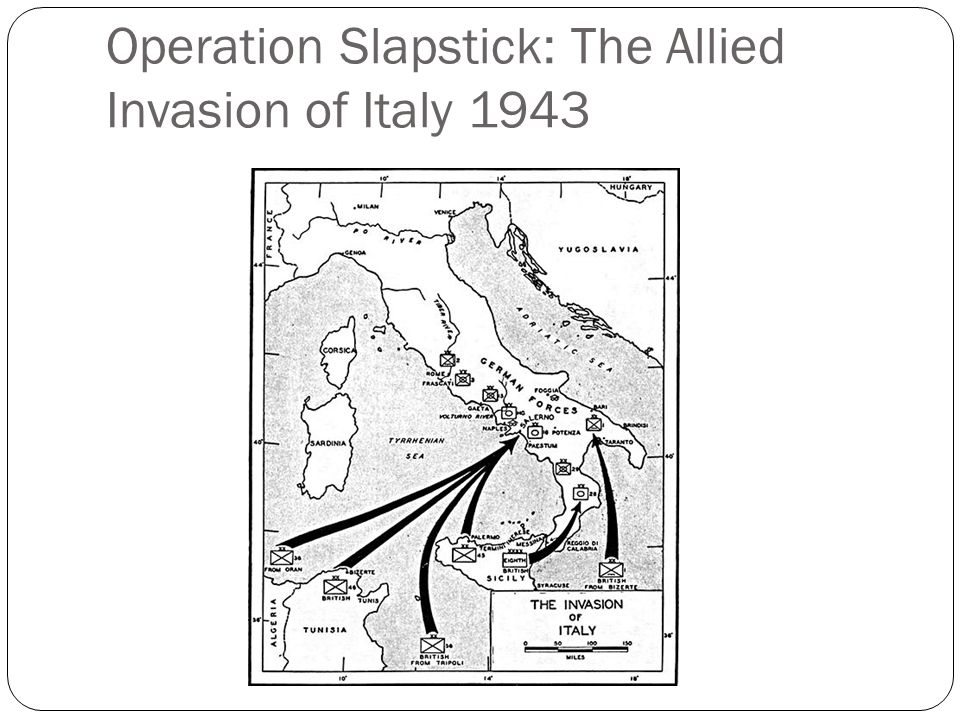 Operation Slapstick: The Allied Invasion of Italy 1943