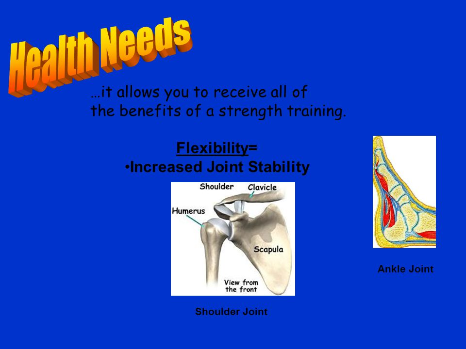 …it allows you to receive all of the benefits of a strength training.