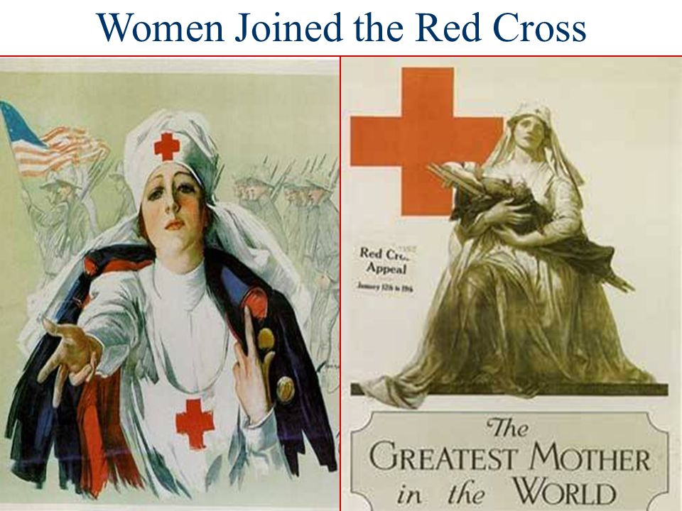 Women Joined the Red Cross