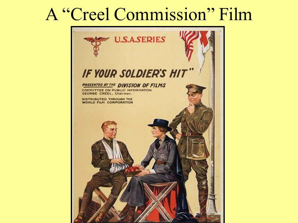 "A ""Creel Commission"" Film"
