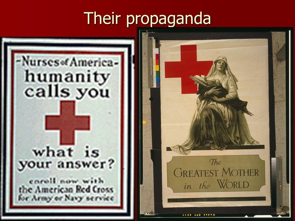 Their propaganda