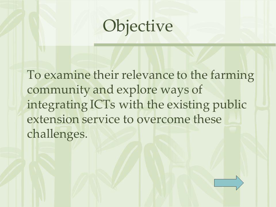 Findings- Source of agricultural information RankSource IMiddlemen/ input dealers IIGovernment agencies IIIInterpersonal networks