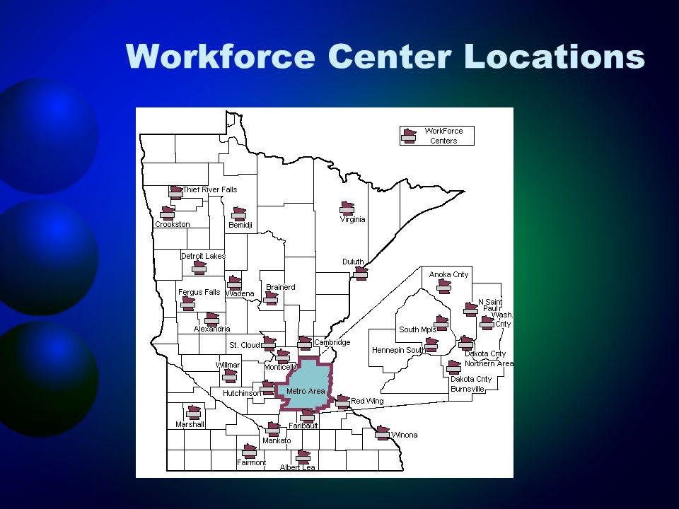 Workforce Center Locations