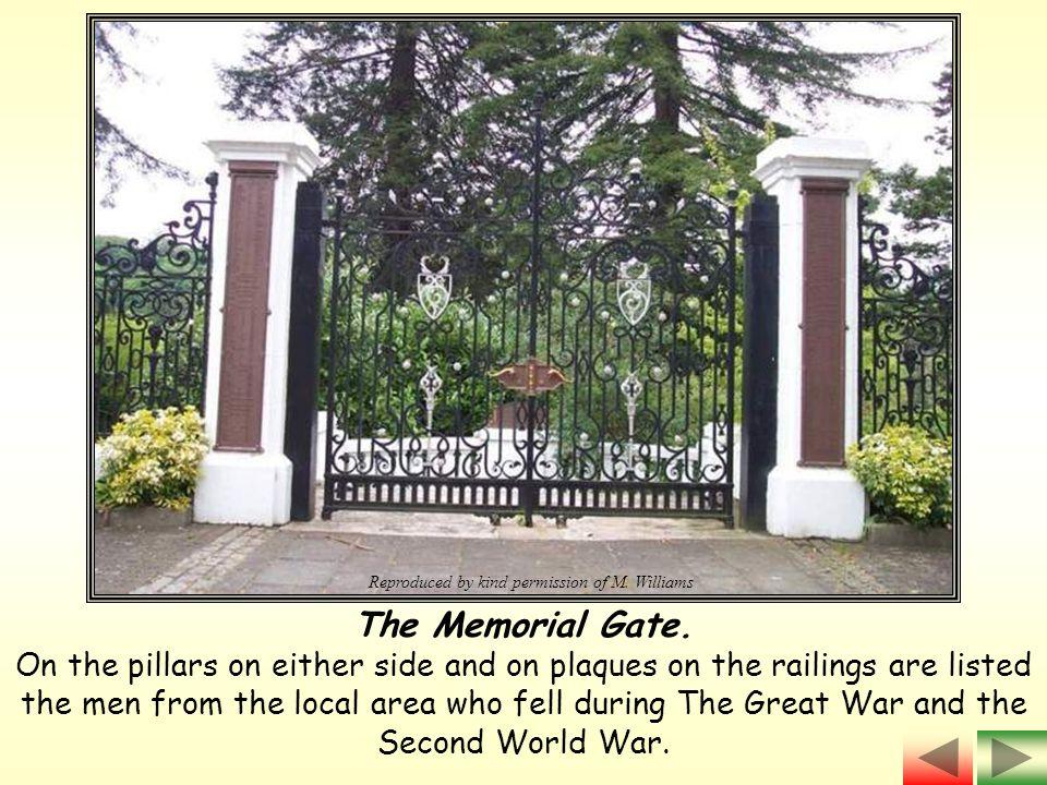 The Memorial Gate.