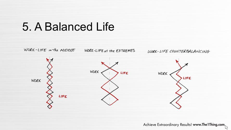 5. A Balanced Life