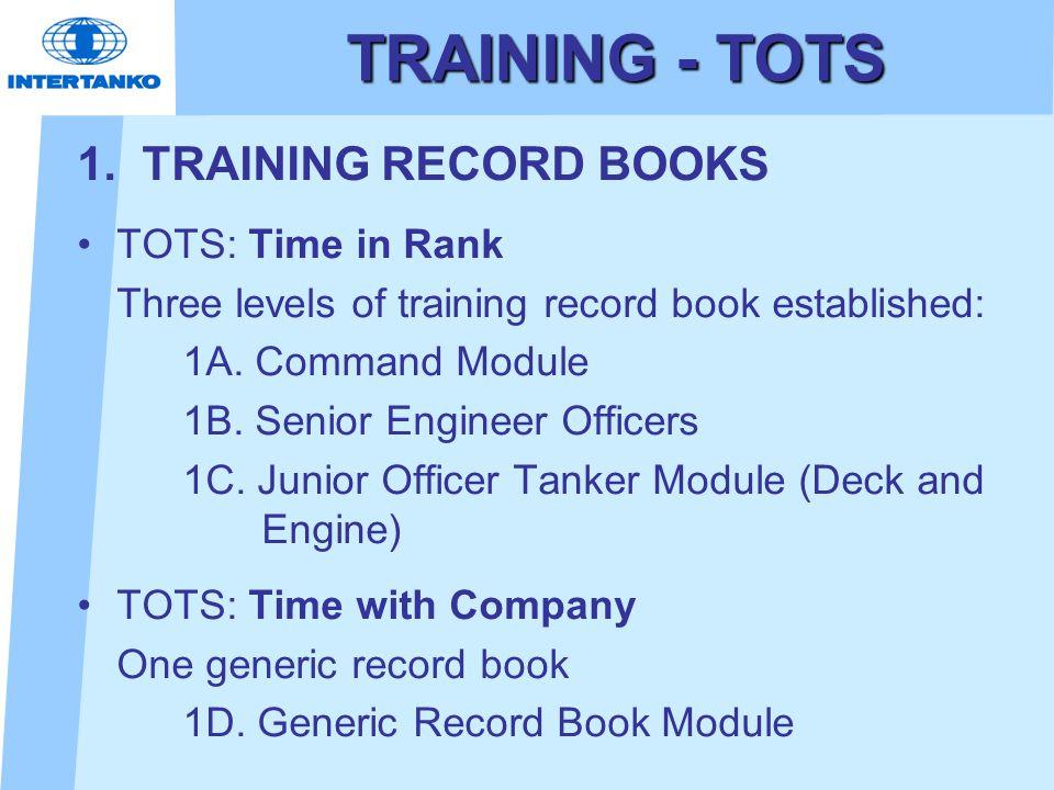 TRAINING - TOTS 1.