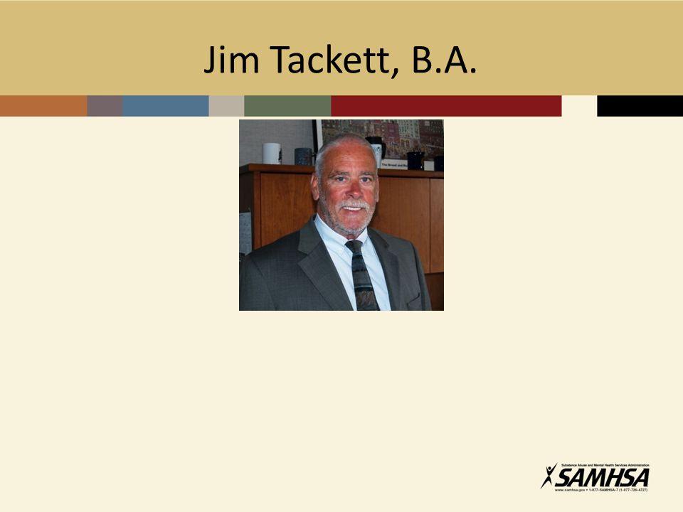 Jim Tackett, B.A.