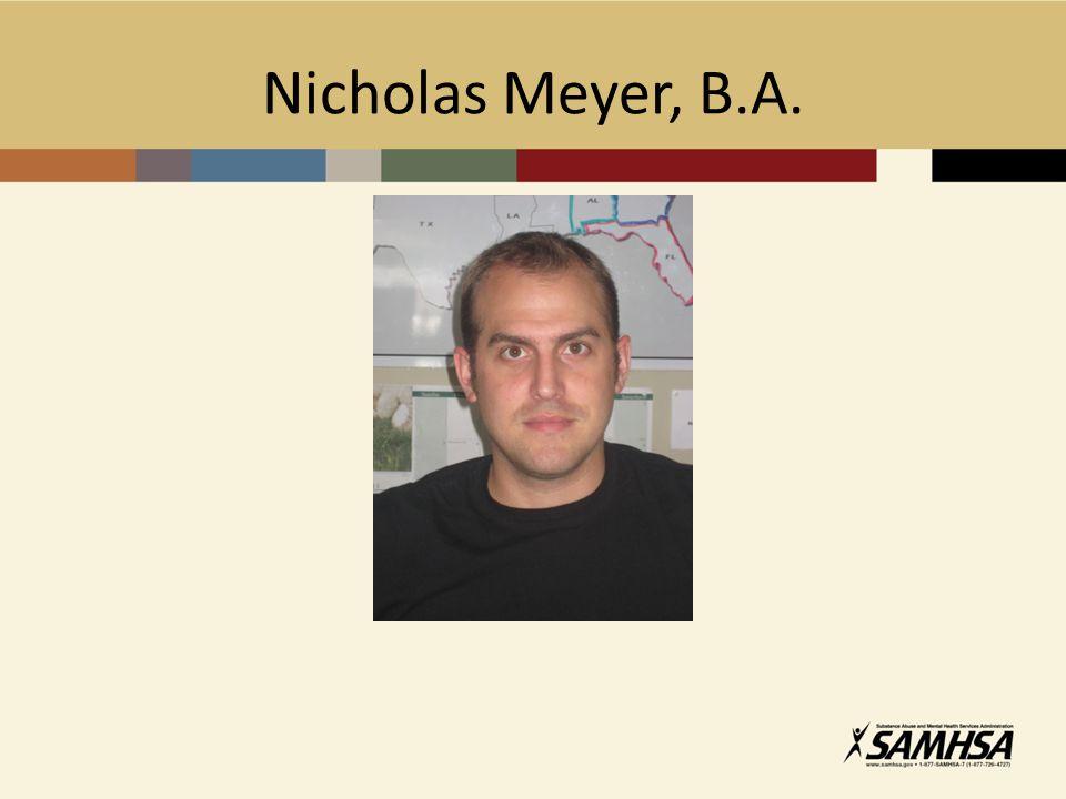 Nicholas Meyer, B.A.
