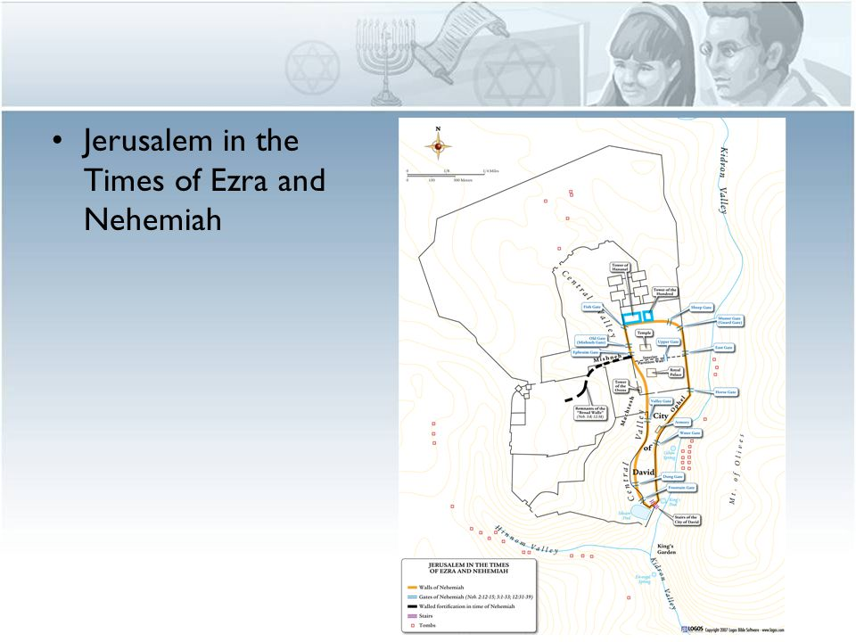 Jerusalem in the Times of Ezra and Nehemiah