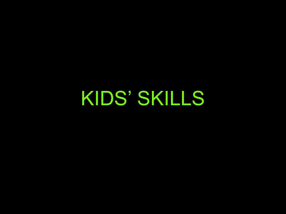 KIDS' SKILLS