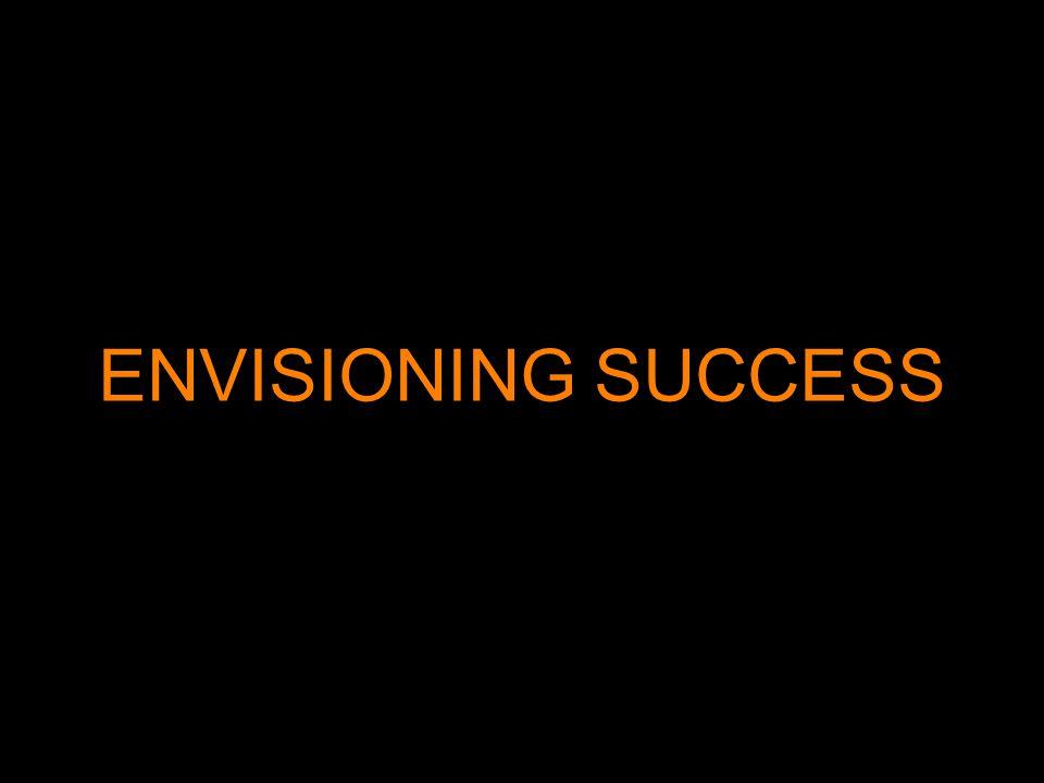 ENVISIONING SUCCESS