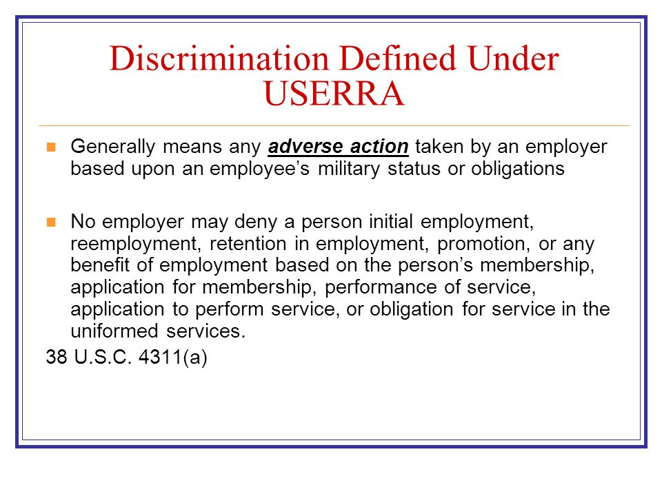 Elements of Burden of Proof 1002.23 What must the individual show to carry the burden of proving that the employer discriminated or retaliated against him or her.