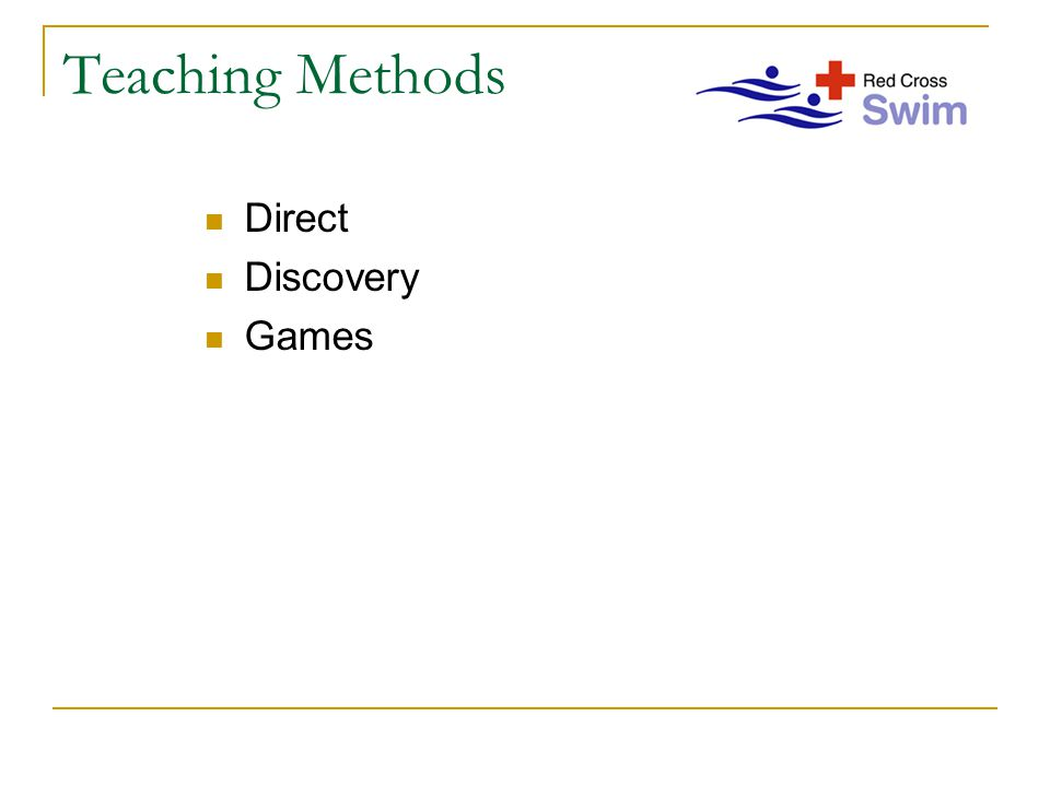Teaching Methods Direct Discovery Games