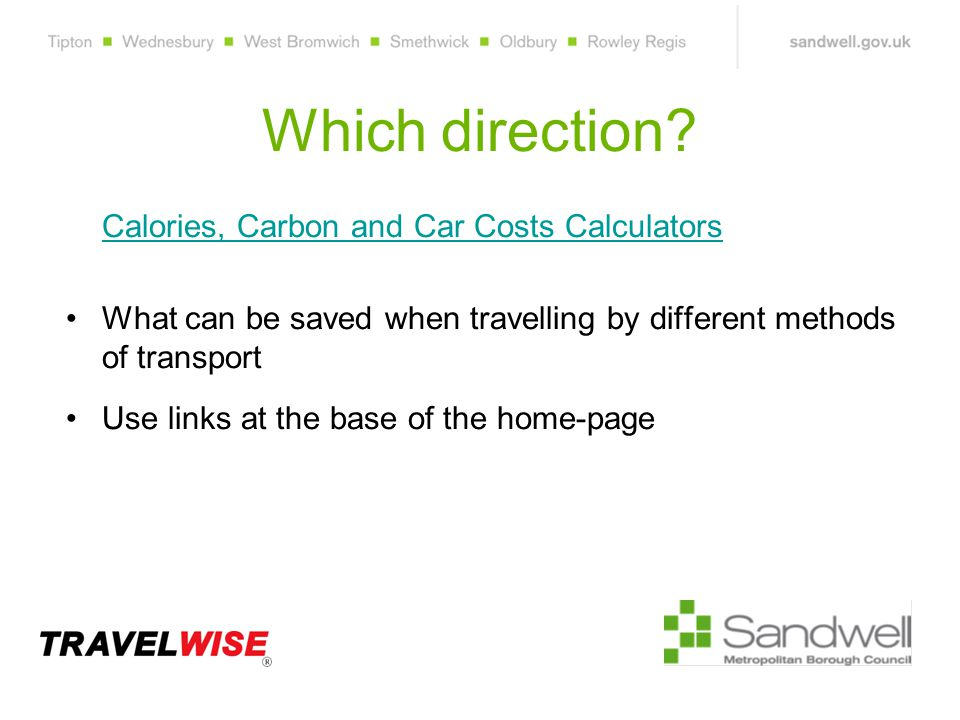Which direction.