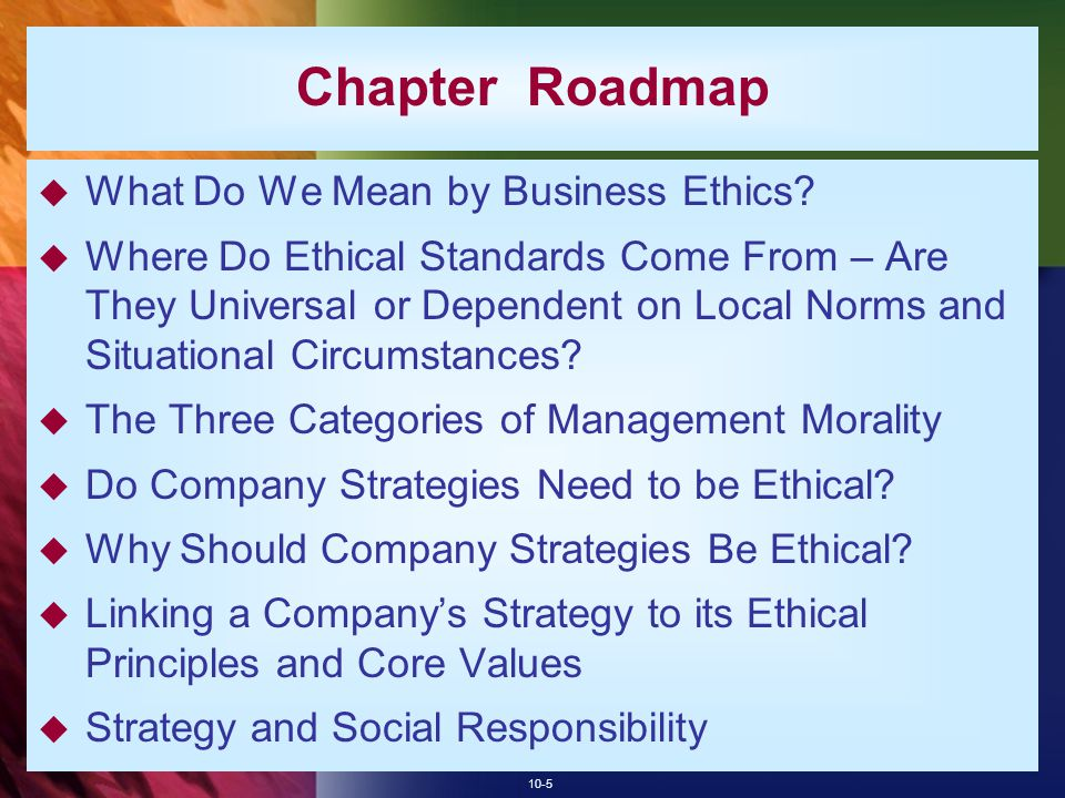 napter business ethics essay The 10 benefits of business ethics the impact of business ethics on nestlé nestlé's view on business ethics 43 the implications of business ethics on stakeholders 5 conclusion introduction every business has the power through their ability to spend vast amounts of money they have.