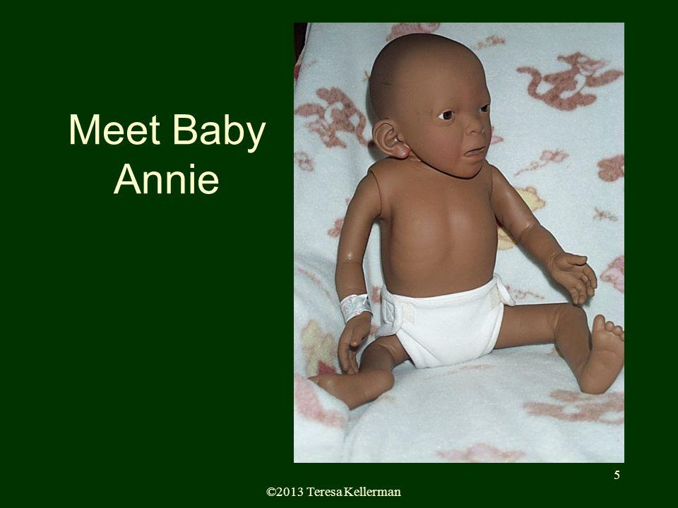©2013 Teresa Kellerman 5 Meet Baby Annie Demo Baby