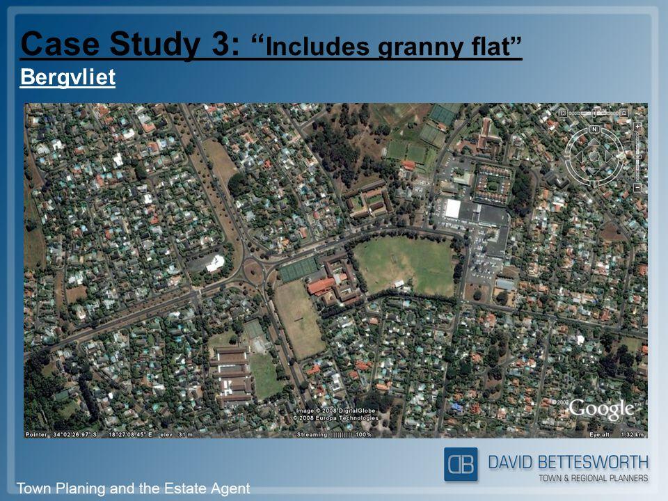 Case Study 3: Includes granny flat Bergvliet