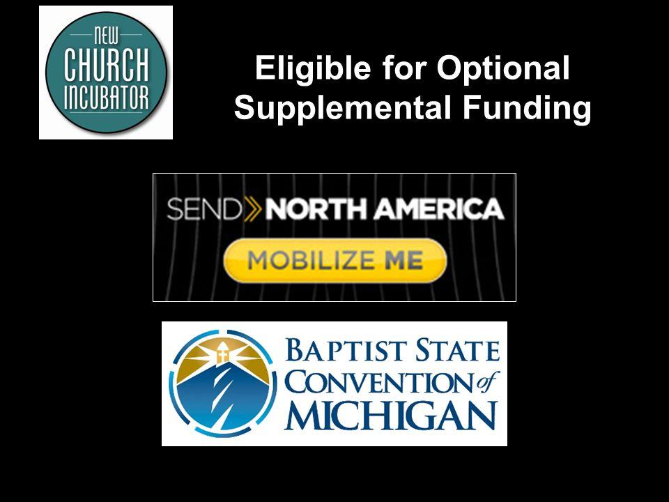 Eligible for Optional Supplemental Funding