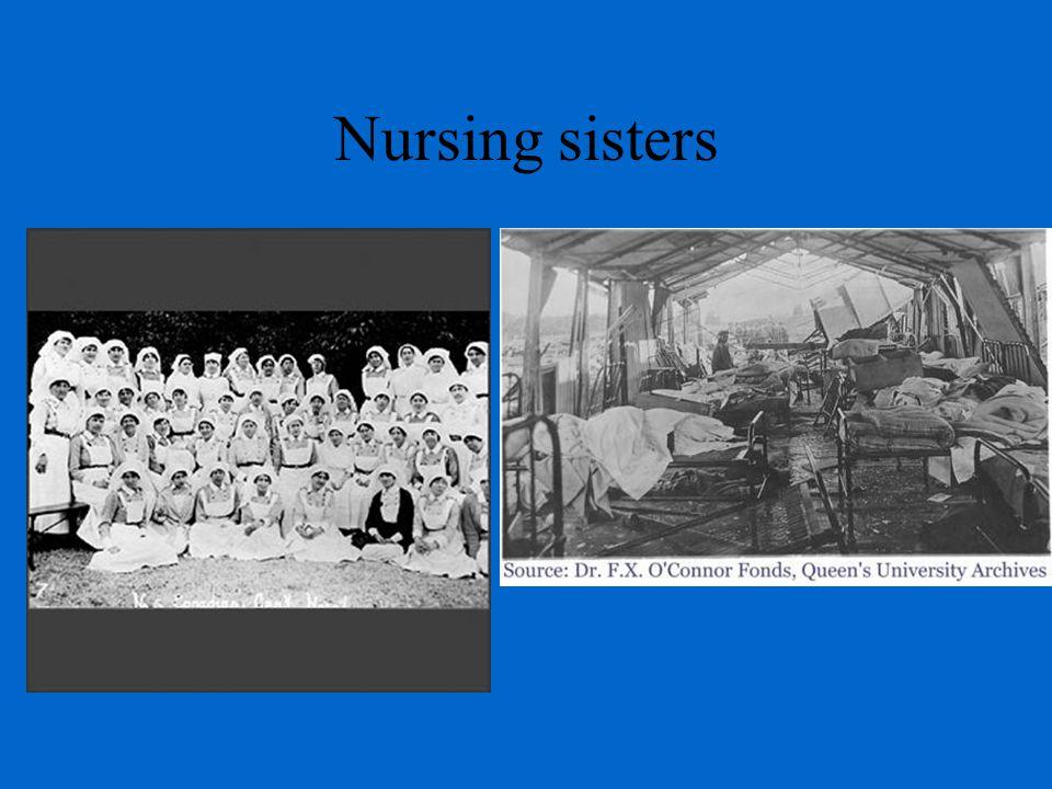 Nursing sisters