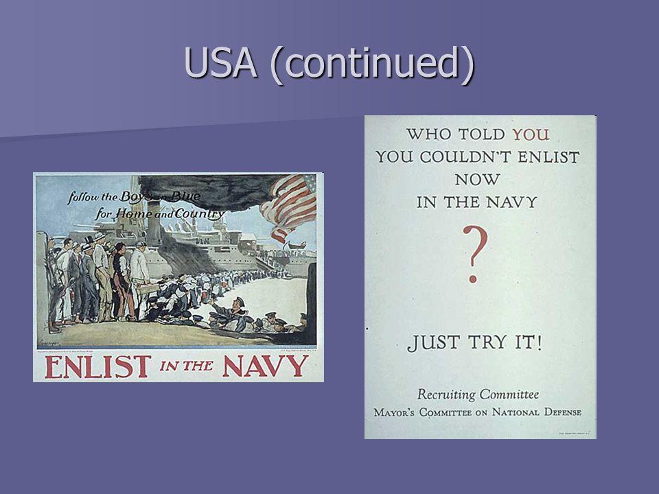 USA (continued)